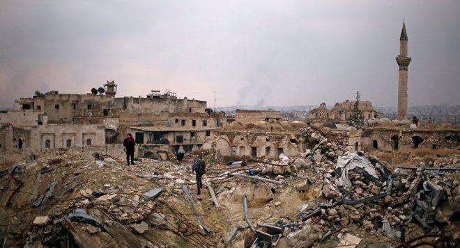 Savaşın yok ettiği suriye ve mimarisi