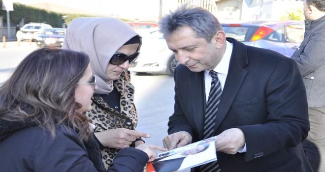 Mimar Sinan halkından Sipahi'ye yoğun ilgi