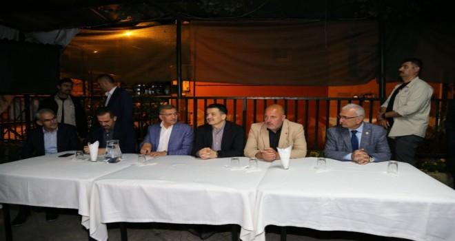 Bakan Pakdemirli Beykoz'da Bal Üreticileriyle  Buluştu
