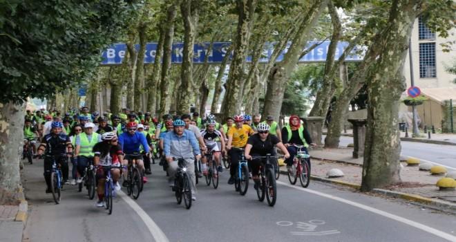 Beykoz'da Asgari Kalabalık Bisiklet Turları Başladı