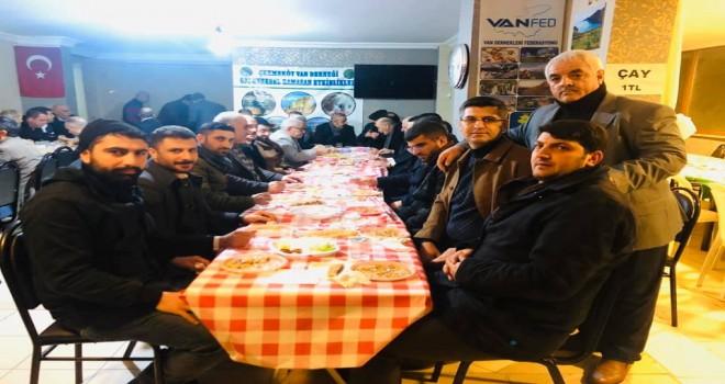 Çekmeköy Van Derneği Keledoş Gecesi düzenledi