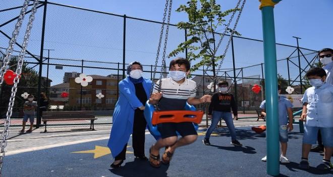 Sancaktepe'de 3 Yeni Park Hizmete Açıldı