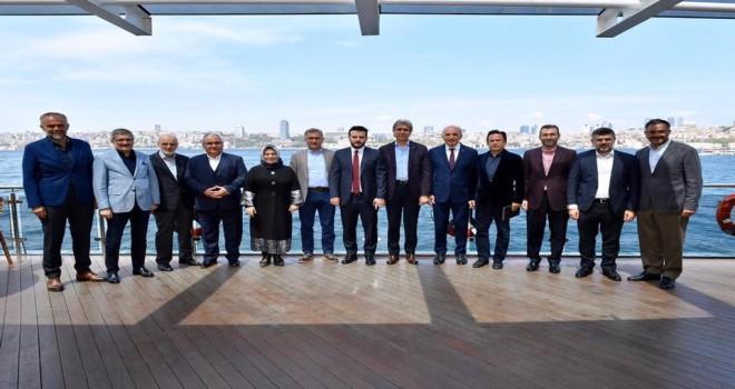 Anadolu Yakası Belediye Başkanları Toplantısı Üsküdar'da Yapıldı