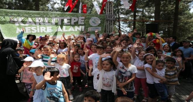 Beykoz'un Cennet Köşelerinden Karlıtepe Mesiresi Açıldı