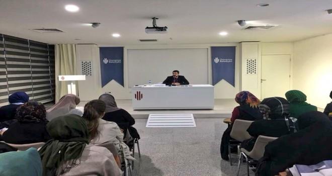 ÜMRANİYELİ'LER MEHMET FATİF ÇITLAK'LA SOHBETTE BULUŞUYOR