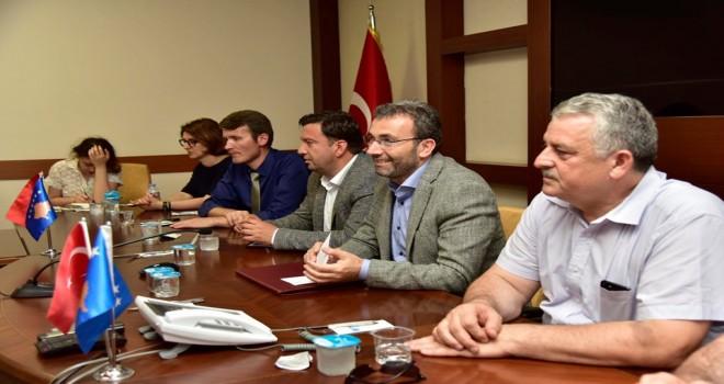 Kosovalı Belediye Başkanlarından Pendik Belediyesine Ziyaret