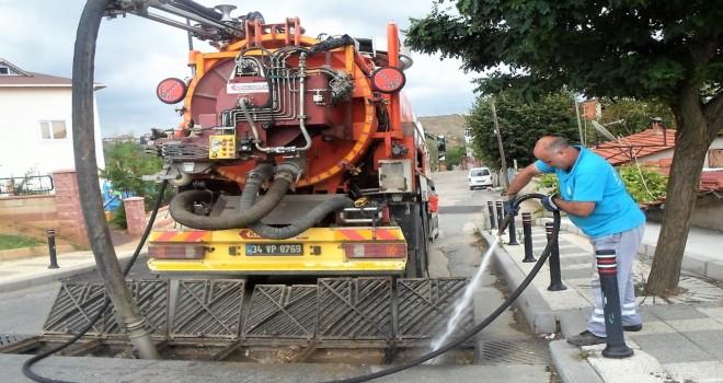 Ümraniye Belediyesi Sağanak Yağışlara Karşı Teyakkuzda