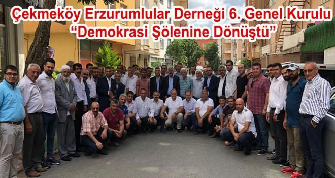 Çekmeköy Erzurumlular Derneğin de Zülküf Canvar Dönemi