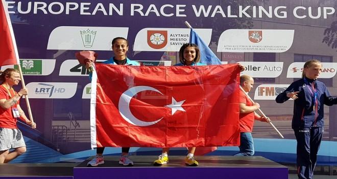 Evin Demir'den Avrupa Şampiyonası'nda Gümüş Madalya