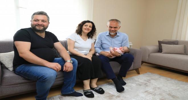 BAŞKAN POYRAZ HAMİDİYE MAHALLESİ'NDE HOŞ GELDİNİZ DEDİ