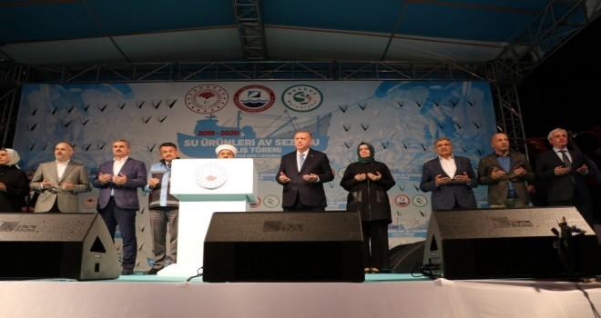 Cumhurbaşkanı Erdoğan Balık Avı Sezonunu Beykoz'dan Açtı