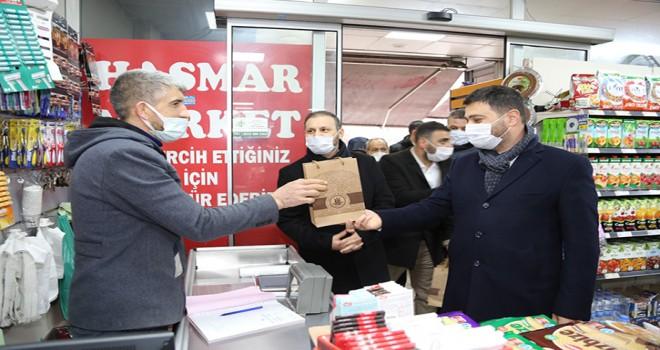 KAĞITHANE BELEDİYESİNDEN ESNAFA 1.000 TL DESTEK