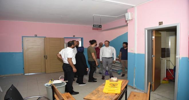 Avcılar'da Okullar Yeni Döneme Hazırlanıyor