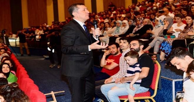 Milli Eğitim Bakanı Ziya Selçuk, Sancaktepe'de Öğretmenlerle Buluştu