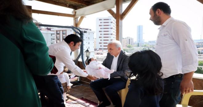 Başkan Yıldırım'dan Hoş Geldin Bebek Ziyareti