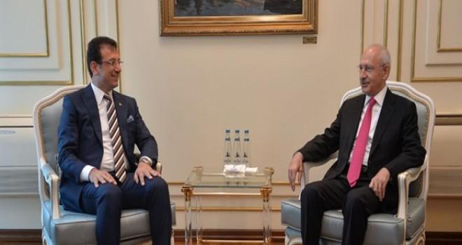 CHP lideri Kılıçdaroğlu'ndan Ekrem İmamoğlu'nu ziyaret etti