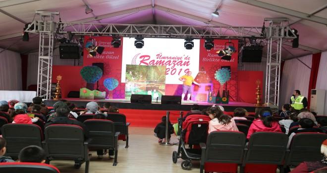 Ümraniye'de Ramazan Etkinlikleri İlgi Görmeye Devam Ediyor