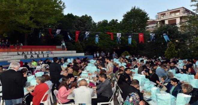 Beşiktaş halkı  Mahalle İftarlarında Buluşuyor