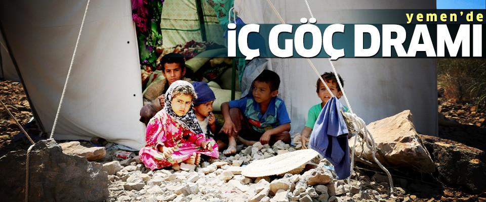 Yemen'de 'iç göç dramı'