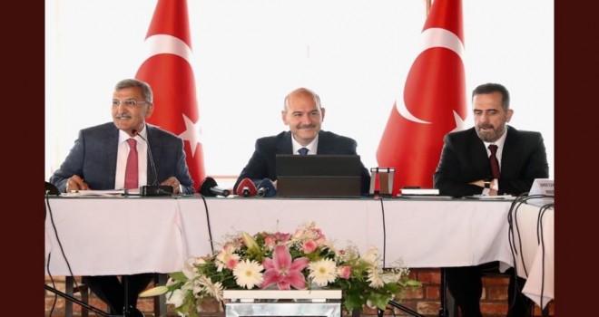 Süleyman Soylu ve Murat Aydın Beykoz da Sahaya İndi