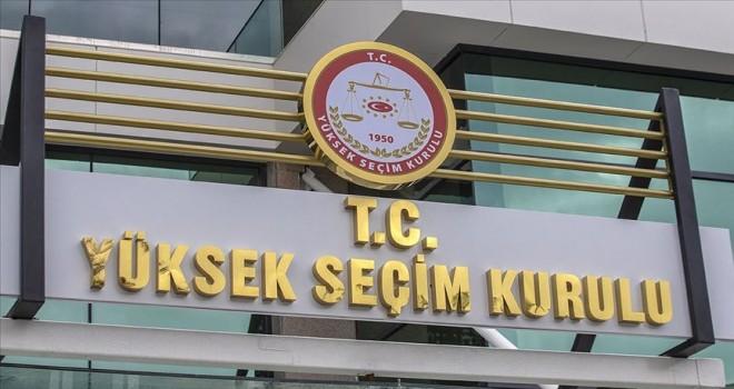 YSK'DAN GELECEK PARTİSİ KARARI