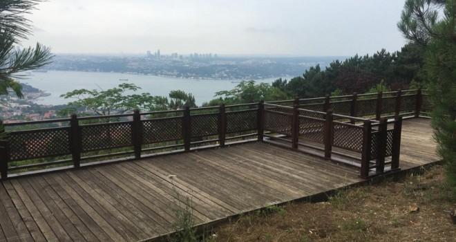 İstanbul Artık Karlıtepe Mesiresi'nden Seyredilecek