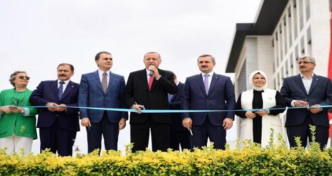 Cumhurbaşkanı Recep Tayyip Erdoğan,Sancaktepe'de Toplu Açılış Törenine Katıldı.