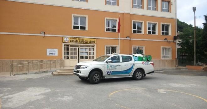 Beykoz Belediyesi İlaçlama Ekipleri Görev Başında