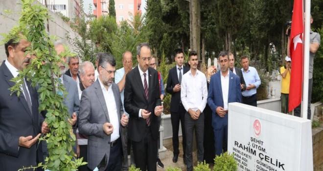 Başkan Hüseyin Keskin, Şehit Aileleri ve Gazilerle bir araya geldi