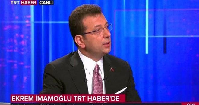 İmamoğlu, TRT'den İstanbul'a seslendi: 'Megabüs' geliyor