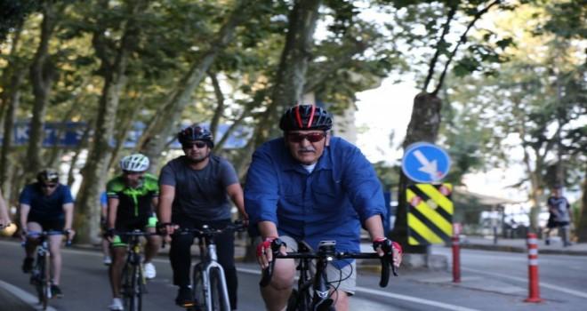 Beykoz'da Pazar Günleri Yollar Bisikletlilerin