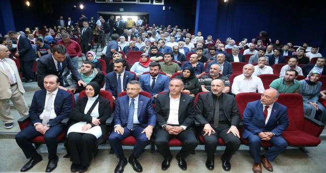 Cumhurbaşkanı Yardımcısı Fuat Oktay Ümraniye'de Vatandaşlarla Bir Araya Geldi
